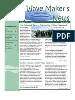 July 2009 Wave Maker's Newsletter