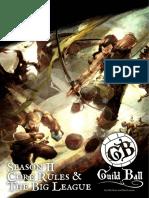 Guild Ball S2 Rulebook Season 2