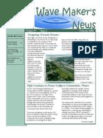 February 2009 Wave Maker's Newsletter