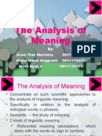 THE ANALYSIS OF MEANING - GROUP 5TH - THEORY OF TRANSLATION.pptx