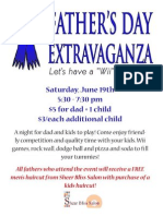 Fathers Day Extravaganza