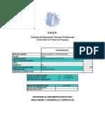 Programa 3º BP Instalaciones Electicas