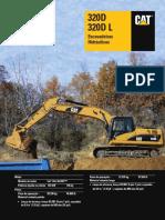 Manual de especificação CAT320DL (1)