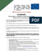 Merk Bla Etter Schengen Visa Requirements