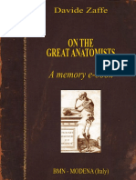 On the Great Anatomists - Davide Zaffe