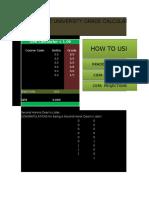 DLSU GPA and Grade Calculator
