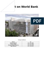 Report on World Bank
