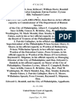 Martin Harris Jesse Kithcart William Davis Randall Cummings Evelyn Lingham Estrus Fowler Tyrone Hill Nathaniel Carter v. The City of Philadelphia Joan Reeves, in Her Official Capacity as Commissioner of the Department of Human Services of the City of Philadelphia Albert F. Campbell, Rosita Saez-Achilla, Genece E. Brinkley, Esq., Rev. Paul M. Washington, M. Mark Mendel, Hon. Stanley Kubacki, Mamie Faines, Each in His or Her Official Capacity as a Member of the Board of Trustees of the Philadelphia Prison System J. Patrick Gallagher, in His Official Capacity as Superintendent of the Philadelphia Prison System Harry E. Moore, in His Official Capacity as Warden of Holmesburg Prison Wilhelmina Speach, in Her Official Capacity as Warden of the Detention Center Press Grooms, in His Official Capacity as Warden of the House of Corrections Raymond E. Shipman, in His Official Capacity as Managing Director of the City of Philadelphia and Hon. Edward G. Rendell, in His Official Capacity as Mayor of