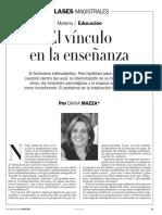 EL VINCULO EN LA ENSEÑANZA.pdf