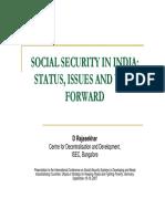 08 Rajasekhar Social Security in India