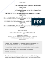 United States of America, Ex Rel. Sylvester Johnson v. Howard Yeager, Principal Keeper of the New Jersey State Prison. United States of America, Ex Rel. Stanley Cassidy v. Howard Yeager, Principal Keeper of the New Jersey State Prison. United States of America, Ex Rel. Wayne Godfrey v. Howard Yeager, Principal Keeper of the New Jersey State Prison, 327 F.2d 311, 3rd Cir. (1964)