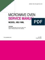 Microondas Lg Manual Técnico
