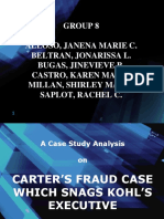 Case Study Analysis on Financial and Mgt Reporting