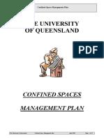 Confined Space Management Plan