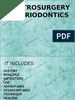 Electrosurgery in Periodontics Perio
