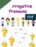 259919259 Interrogative Pronouns Which What