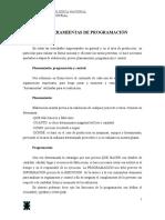 Unidad 6 - Herramientas de Programación