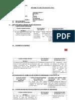 Esquema Informe Técnico Pedagógico 2015primeroIIBimestre