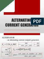 Lesson 12 - Alternator