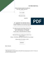 Willie Davis v. Saylor, 3rd Cir. (2015)