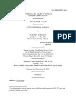 United States v. Dorothy Robinson, 3rd Cir. (2015)