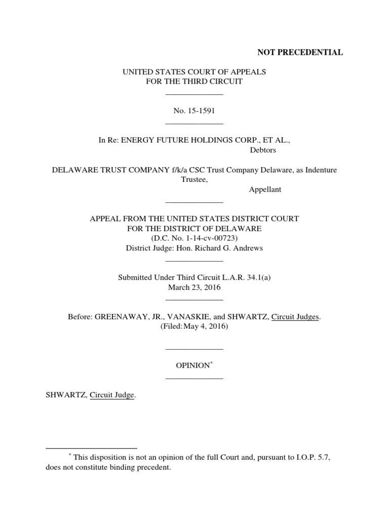 efh bankruptcy trial