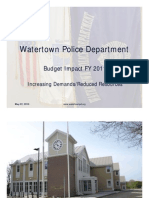 Police - Town Council Budget Hearing