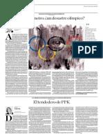 Río de Janeiro Un Desastre Olímpico