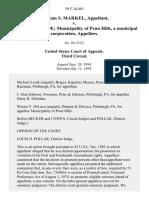 William S. Markel v. Harry R. McIndoe Municipality of Penn Hills, a Municipal Corporation, 59 F.3d 463, 3rd Cir. (1995)