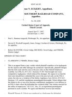 Thomas N. Eckert v. Aliquippa & Southern Railroad Company, 828 F.2d 183, 3rd Cir. (1987)