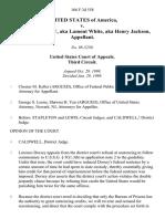 United States v. Lorenzo Dorsey, AKA Lamont White, AKA Henry Jackson, 166 F.3d 558, 3rd Cir. (1999)