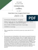 United States v. Caserta, 199 F.2d 905, 3rd Cir. (1952)