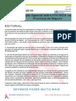 Resposta Ao Hiv Planificacao Distrital Da Provincia de Maputo