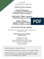 United States v. Graham, Robert B. Appeal of Robert B. Graham Sr. United States of America v. Greenspun, Milton, United States of America v. Kirby, William P. Appeal of William P. Kirby. United States of America v. Balchaitis, Joseph, 758 F.2d 879, 3rd Cir. (1985)