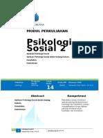 Modul 14 Psikologi Sosial 2(1)