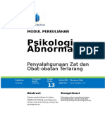 P14. Penyalahgunaan Zat Dan Obat-obat Terlarang
