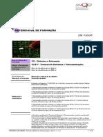 523077 Tcnicoa de Eletrnica e Telecomunicaes ReferencialEFA