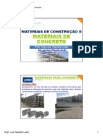 Aula 12- Materiais de Concreto