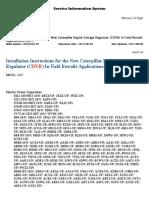 REHS4494 - Installation Instructions for the New Caterpillar Digital Voltage Regulator %28CDVR%29 In Field Retrofit Applications{4467}.pdf