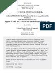 Educational Testing Service v. John Katzman, the Princeton Review, Inc., Robert S. Schekker and Pretest Review, Inc. Appeal of John Katzman and the Princeton Review, Inc, 793 F.2d 533, 3rd Cir. (1986)