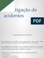 6- Investigação de Acidentes