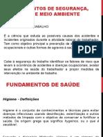1- Fundamentos de Segurança, Saúde e Meio Ambiente