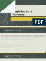 8.0 - Legislação e Normas