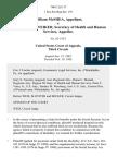 William McShea v. Richard S. Schweiker, Secretary of Health and Human Services, 700 F.2d 117, 3rd Cir. (1983)