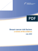 Rfrw Breast Cancer Risk Factors a Review of the Evidence 1.15