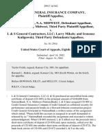 Credit General Insurance Company v. Nationsbank, N.A. Midwest, Nationsbank, N.A. Midwest, Third Party v. L & S General Contractors, LLC Larry Mikels and Ireneusz Kuligowski, Third Party, 299 F.3d 943, 3rd Cir. (2002)