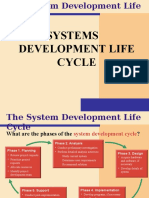 5 SDLC Systems Development Life Cycle