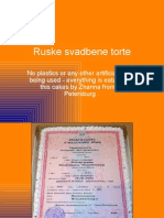 RUSSIAN WEDDING torte