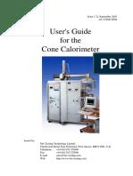 Cone Calorimeter