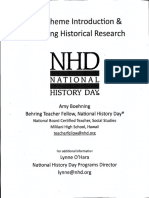 nhd ambassador training docs